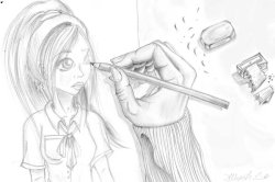 Sketching Anime