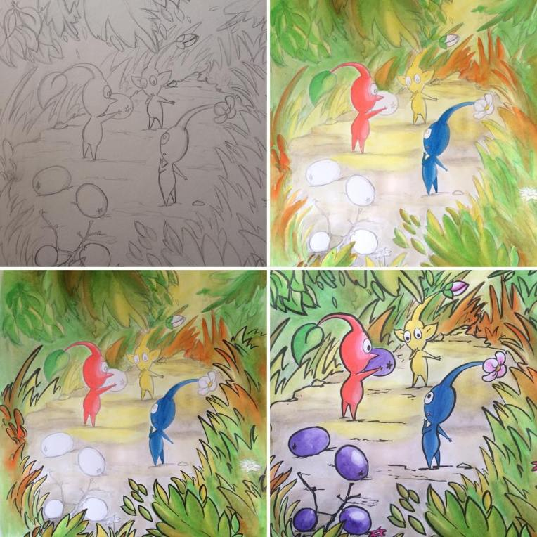 pikmin progress