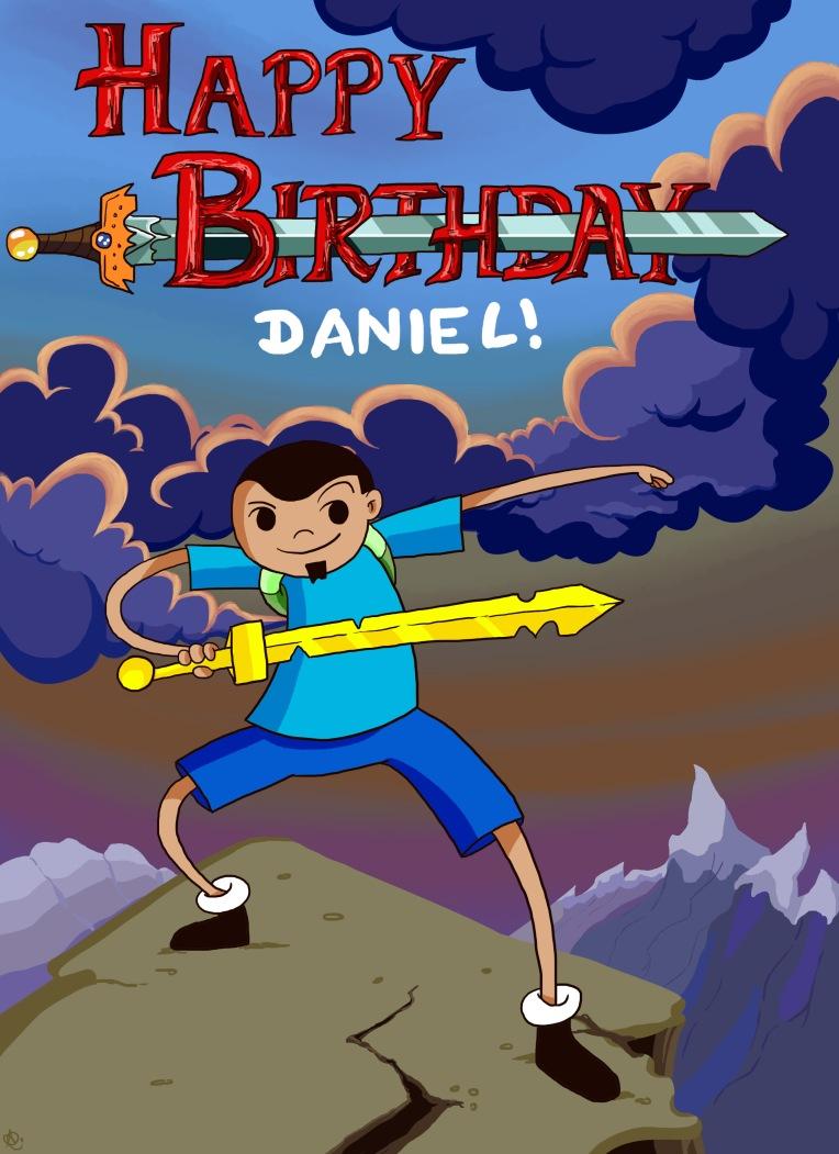 Adventure Time birthday card final