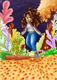Ali in Autumn