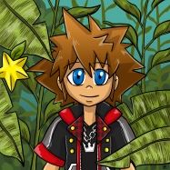 Sora on Destiny Islands